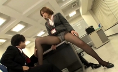 Amateur japanese couple fucks in public