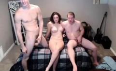 amateur threesome 8 brunette