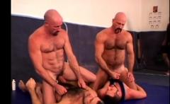Wrestling Group Bareback