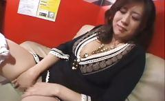 Nana Aoyama Sucking Cock in Coffee Shop