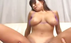 Young mature sixty nines then rides cock with her tits