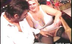 BBW slut receives whole in her wet