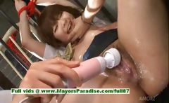 Meina hot girl lovely Chinese girl gets pussy teased