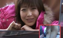 Horny Nana Natsume Fucked In A Van
