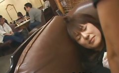 Hot Japanese doll gets some hard public