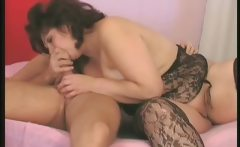 Aroused dirty brunette woman fucking