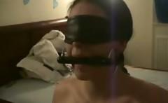 Spanking and Cum Training my sub Layla