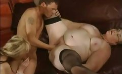 MILF and granny get fucked