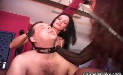 Hot horny nasty sexy MILF babes bondage