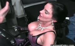 Kinky dominatrix Carmen knows how