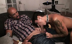 Margaux a French Milf assfucked
