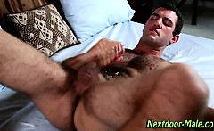 Muscle jock fleshlight jerk cumshot