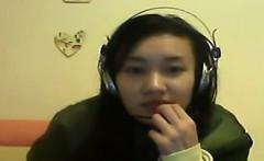 Naughty Chinese Girl Masturbating