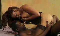 Ebony Mother Getting Her Pussy Fucked