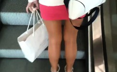 Sexy Legs In Pantyhose Spotted In Public