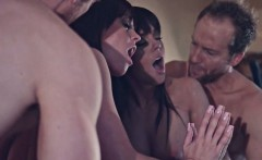 Big boobs babe Rahyndee James screwed up and creampied