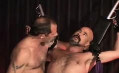 Nasty kinky gay gets bondage and gets