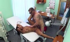 Eurobabe eats uniformed nurse pussy