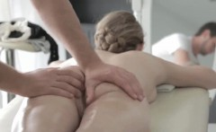 Fantasy massage perfect body perfect blonde
