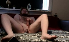 Danish Guy - Ginger cub butt show and jerk off