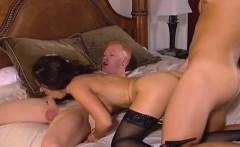 Ravishing the Asian slut with two erect cocks