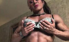 Monica Martin Shows Her Muscular Physique