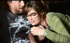 Slutty redhead babe Jodi Taylor pounded by pervert guy