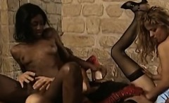 Fisting orgy with hot black immigrant in German lands