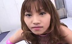 Japanese milf enjoys lesbian stimulation