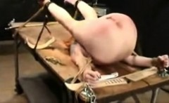 Bizarre Pussy and Ass Punishment for Slave Barbara