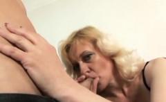 Lusty grandma has her juicy cunt penetrated