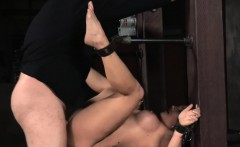 Submissive Angel Allwood punished roughly