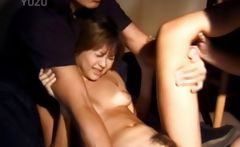 Asian Slave Gets Body Punished