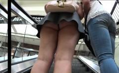 Nerdy Whooty Upskirt Butt