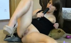 Tight-bodied starlet loves having a dildo up her ass while