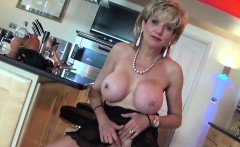 Adulterous english milf gill ellis shows off her massive boo