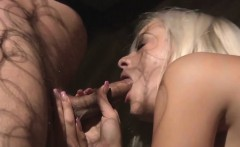 Busty Slave Submitted To Brutal Humiliation