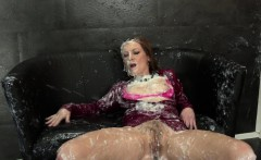 Gloryhole whore creamed