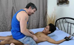 Asian Boy Russel Tied and Tickled