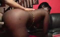Lucky White Prick Scores The Hottest Young Chick In Africa