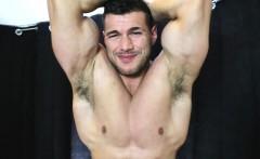 Take my hot wrestler cum load!
