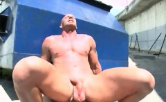 Regular naked guys outdoors and naked men pissing outside in