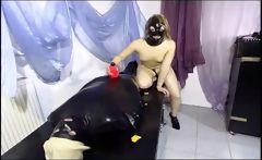Domina takes care of her slave