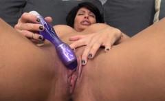 Hot Busty MILF Shay Fox Masturbating!