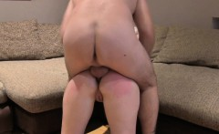 FakeAgentUK Dirty agent gives anal creampie