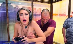 Teen Gamer Kimber Lee Gets Fucked By A Hung Gamer