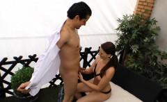 SEXTAPE GERMANY - POV porn shoot with amateur inked brunette
