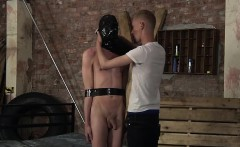 Cute twink Xavier played hard by master Ashton Bradley