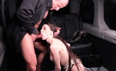 fucked in traffic   steak and blowjob day backseat fuck