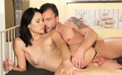 DaneJones Slim young Russian raven with tight pussy
